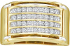 0.50 CT Diamond Mens Cluster Band  CSSGEOH1819