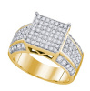 0.97 CTW Diamond Ladies Micro Pave Ring  CSSSRWW1488