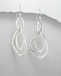 Sterling Silver Earrings 54-706-3779