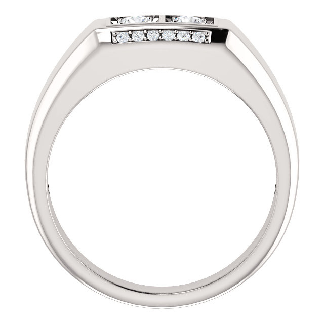 1/2 CTW Men's Diamond Ring  9799:6000:P