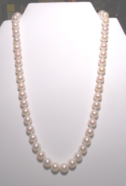 Freshwater Cultured AAA Acoya Pearl Necklace CSS108PN