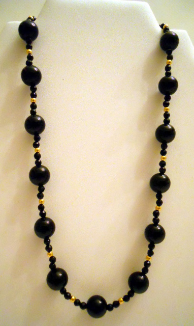 Black Onyx Necklace CSS115N