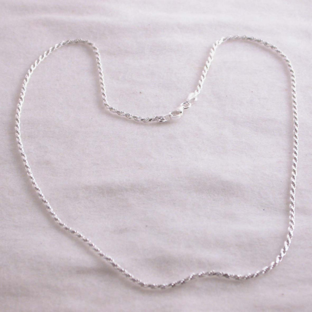 Rope Chain in Sterling Silver CA 928 N-16