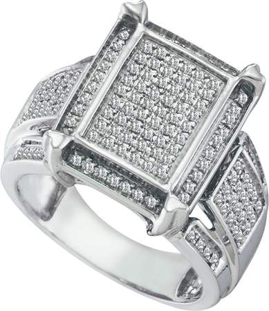 0.45 CT Diamond Micro-Pave Ring CSSSRWW1060