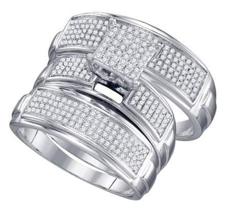 0.69 CT Diamond Micro Pave Set  CSSSTR1070