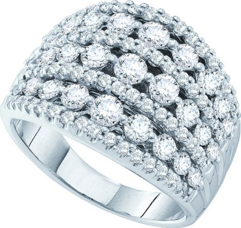 3.00 CT Round Diamond Ladies Band  CSSR32300