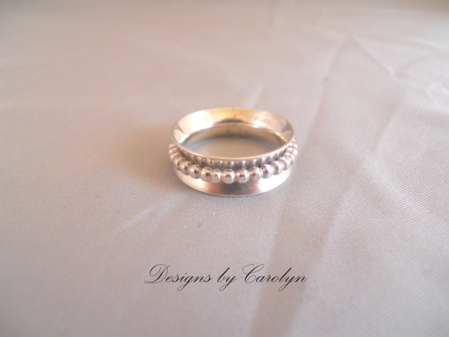 Spinner Ring in Sterling Silver CSS127R