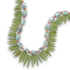 "17"" + 1"" Double Strand Multistone Necklace CSS33752"