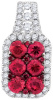 1.28 CTW DIAMOND RUBY FASHION PENDANT CSSPD034462/W
